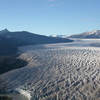 Taku Glacier At The Glacial Snout