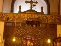 Santa Bárbara Iglesia copta en El Cairo