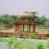 View Of Pavilion In Hauz-i-Shamsi
