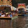 Trajinera Boats In Xochimilco