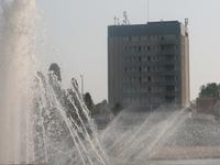 University park in Debrecen