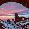 UT Arches NP Winter View