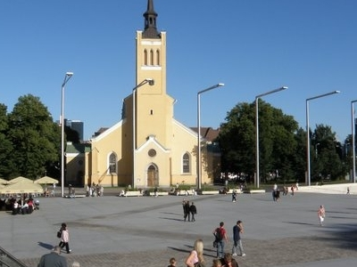 Freedom Square And St. John's Church