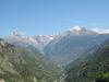 Visp Valley At Stalden
