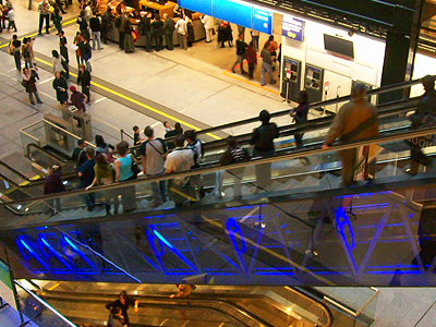 La Cité Des Sciences Main Hall Escalator