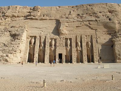 View Abu Simbel Temples Near Aswan