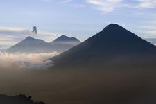View Acatenango Volcan