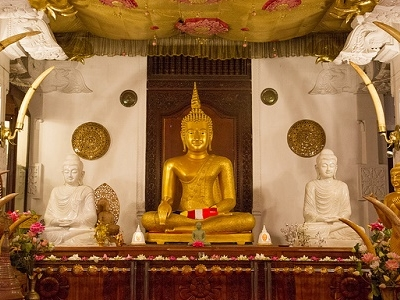View Buddha At Kandy Temple Of The Truth