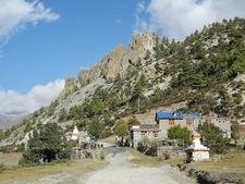 View De Ngawal à Manang - Nepal - Sagarmatha National Park