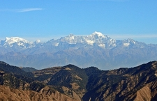 View Nanda Devi From Dhanaulti UT