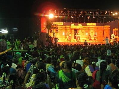 View Of Festival