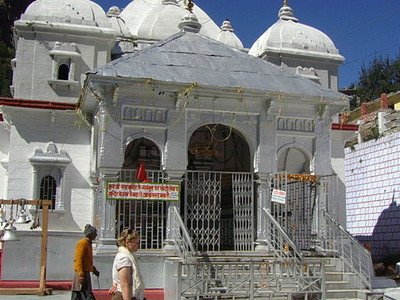 View Of Gangotri Temple