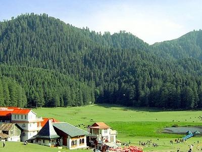 View Of Khajjiar Lake