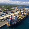 View Of Port Of General Santos, South Cotabato
