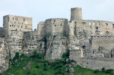 View Of Spis Castle
