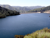 San Gabriel Dam