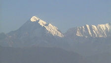 Trisul From Kausani, Uttarakhand