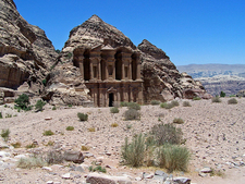 View On Petra's Monastery