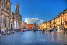 View Piazza Navona In Rome