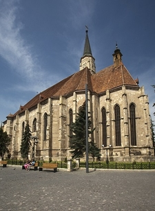 View St. Michael's Cathedral In Cluj