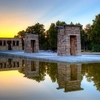 View Temple Of Debod In Madrid