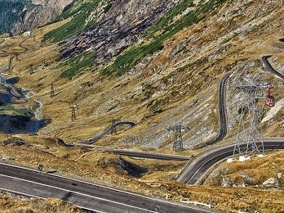 View Transfăgărășan Highway