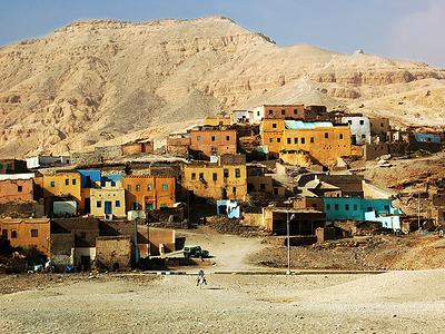 Village In Egypt Luxor