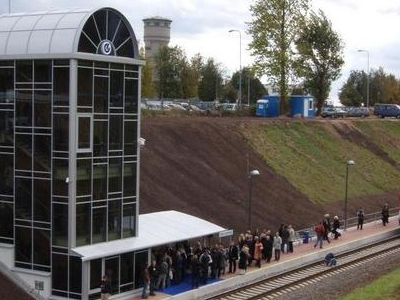 Vilnius Airport Raiway Station