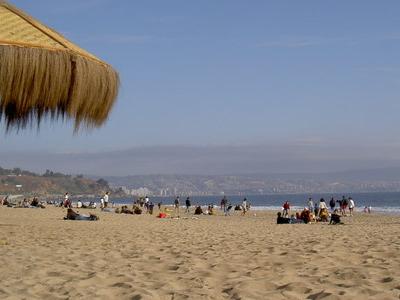 Vina Del  Mar  Strand