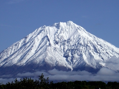 Volcano On The Kamchatka Peninsula