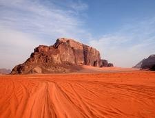 Wadi Rum - Red Sand - Jordan
