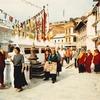 Walking Around Boudhanath Stupa - Kathmandu NP