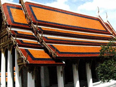 Wat Phra Kaew Inner Compound Structure