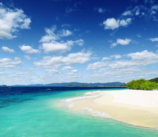 White Sand And Sky