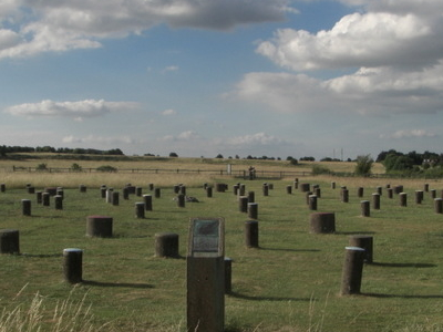 Woodhenge Facing Northwards