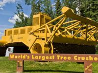 World Largest Tree Crusher