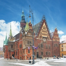 Wroclaw Town Hall Building - Poland