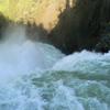 Yellowstone Falls Close Up - Wyoming - USA