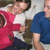 Happy caring host Homa-Bay