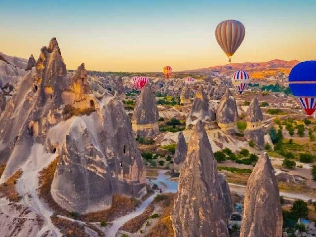 Cappadocia Hot Air Balloon Tours Photos