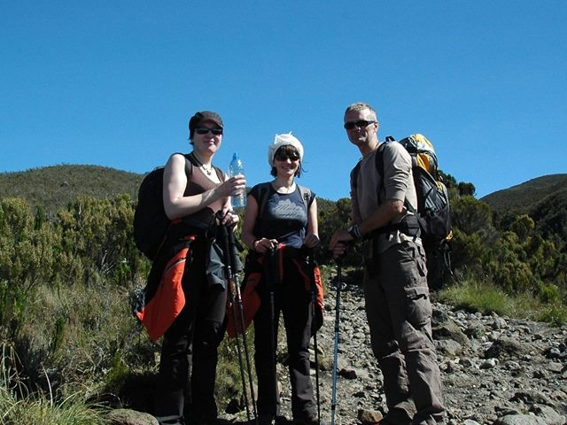 Trekking Mt. Kilimanjaro on Machame Route Photos