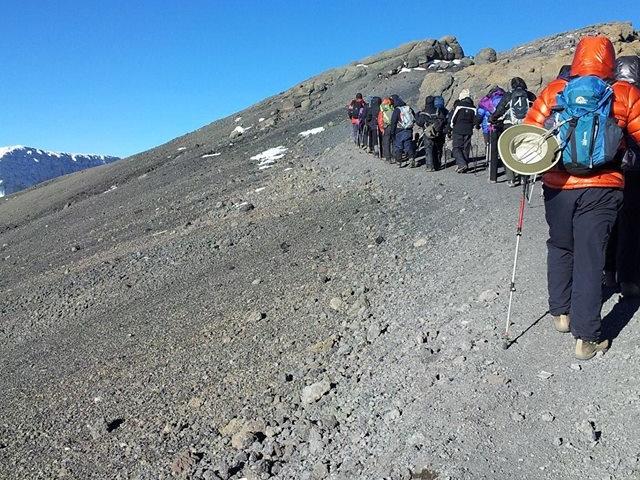 Climbing Mount Kilimanjaro on Marangu Route Photos