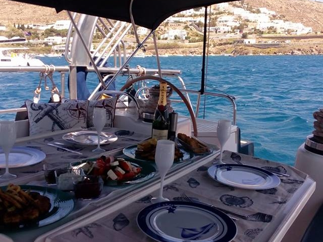 Private Dinner on Board Luxury Yacht in Athens Riviera Photos