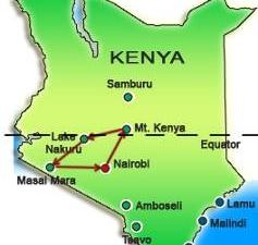 Kenya Rift Valley Trails Photos