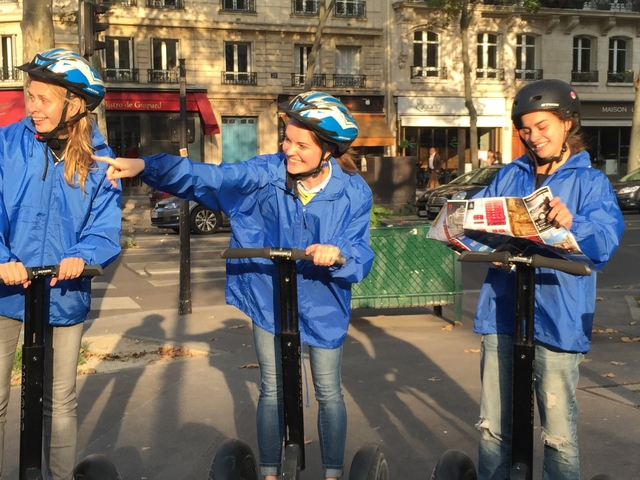 Paris Evening Quest Game on Segway Photos