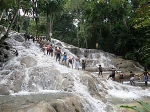 Dunn's River Falls Activity from Ocho Rios Photos