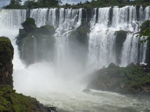 Waterfalls of Iguassu Argentine Side