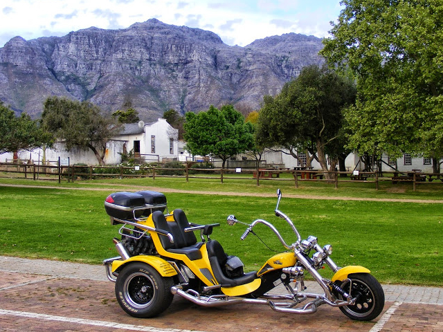 Full Day Cape Winelands Trike Tour Photos