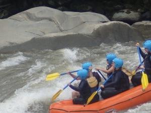 Whitewater Rafting Banos Ecuador Photos