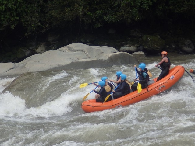 Whitewater Rafting Banos Ecuador Photos